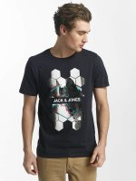 Jack & Jones T-Shirt jcoHunter blau