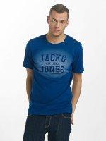 Jack & Jones t-shirt jorStencild blauw
