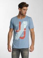 Jack & Jones T-Shirt jcoHatti bleu