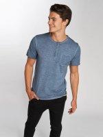Jack & Jones T-Shirt jorCali Granddad bleu