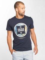Jack & Jones T-Shirt jcoLax bleu
