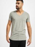 Jack & Jones T-shirt Core Basic V-Neck grå