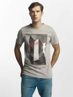 Jack & Jones T-Shirt jcoBeat grau