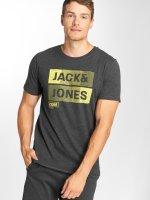 Jack & Jones T-Shirt jcoMase grey