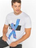 Jack & Jones t-shirt jcoKick grijs