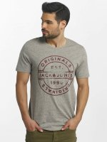 Jack & Jones t-shirt jorSlack grijs
