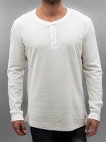 Jack & Jones T-Shirt manches longues jjorGeorge blanc