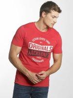 Jack & Jones T-Shirt jorMusai rouge