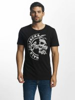 Jack & Jones T-Shirt Split schwarz