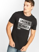 Jack & Jones T-Shirty jcoMase czarny