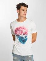 Jack & Jones T-skjorter jorSmokeskull hvit