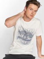 Jack & Jones T-skjorter jorReji hvit
