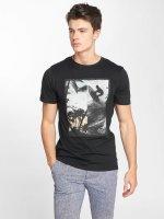 Jack & Jones T-skjorter jorRoad svart