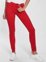 JACQUELINE de YONG Skinny jeans jdyNew Five rood