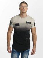 John H T-Shirt Patches schwarz