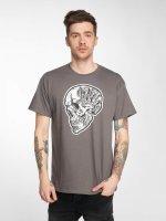 Joker T-Shirt Skull grey