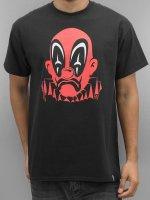 Joker T-Shirt Deadpool Clown schwarz