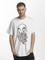 Joker t-shirt Clown Brand wit