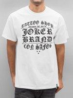 Joker T-shirts Tattoo Shop hvid