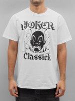 Joker T-shirts Classick Clown hvid