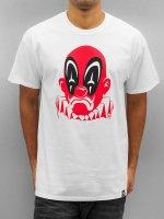 Joker T-skjorter Deadpool Clown hvit