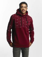 Just Rhyse Hoodies Thane červený