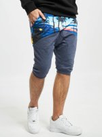Just Rhyse Shorts Palms blau