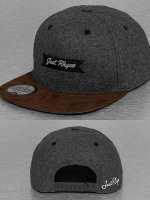Just Rhyse Snapback Caps Wool szary