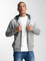 Just Rhyse Sweat capuche zippé Palo Verde gris