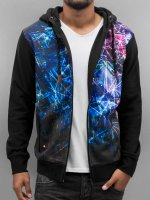 Just Rhyse Sweatvest Quint zwart