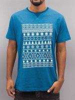 Just Rhyse t-shirt Snow blauw