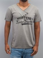 Just Rhyse t-shirt Monterey grijs