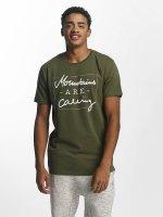 Just Rhyse t-shirt Kasaan olijfgroen