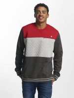 Just Rhyse trui Marble Place rood