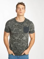 Kaporal T-Shirt Pocket grau