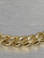 KING ICE Kette Miami Cuban Curb Chains goldfarben