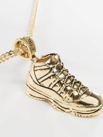 KING ICE ketting Gold_Plated High Top goud