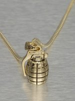 KING ICE Necklace Nade gold