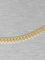 KING ICE Necklace Gold_Plated 5mm Miami Cuban Curb gold colored