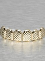 KING ICE Other Quilted Pattern Flat Top gold