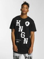 Kingin t-shirt KNGN zwart