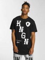 Kingin T-Shirty KNGN czarny