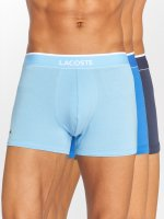 Lacoste boxershorts 3-Pack Trunk blauw