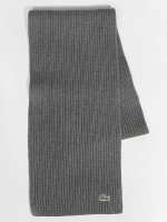 Lacoste Chal / pañuelo Knitted gris