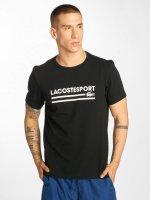 Lacoste t-shirt Classic zwart