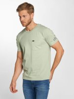 Lee T-Shirty Pocket zielony