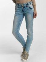 Leg Kings Облегающие джинсы Anna синий