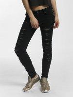 Leg Kings Skinny jeans Mesh svart