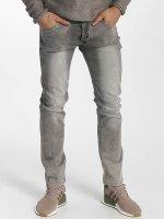 Leg Kings Slim Fit Jeans Washed grijs