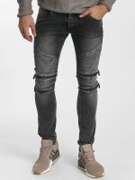 Leg Kings Vaqueros pitillos Zipper gris